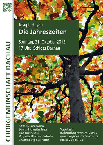 Chorgemeinschaft Dachau Jahreszeiten Haydn
