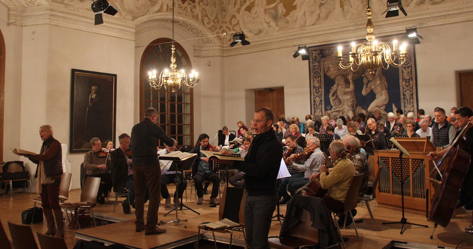 Konzertchor Dachau mit Barbara Fleckenstein und Christof Hartkopf