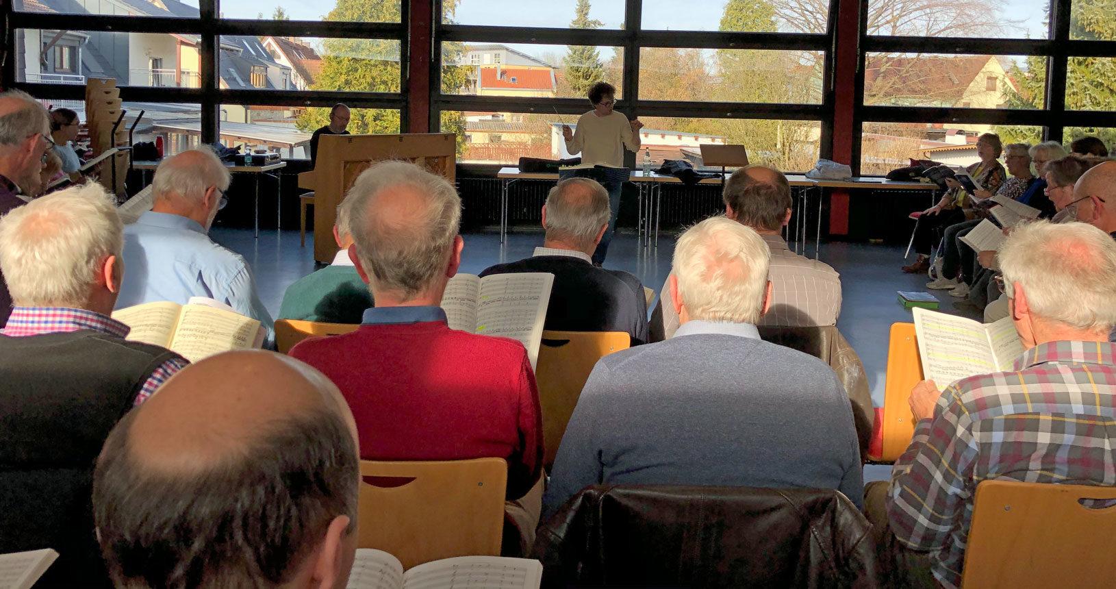 Probe Chorgemeinschaft Dachau