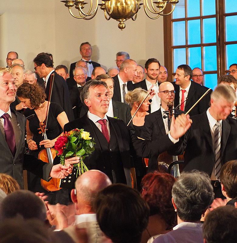 Chorgemeinschaft Dachau Konzert mit Timon Janzen, Bass, und Bernhard Schneider, Tenor