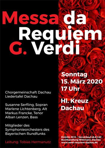 Verdi Requiem Chorgemeinschaft Dachau