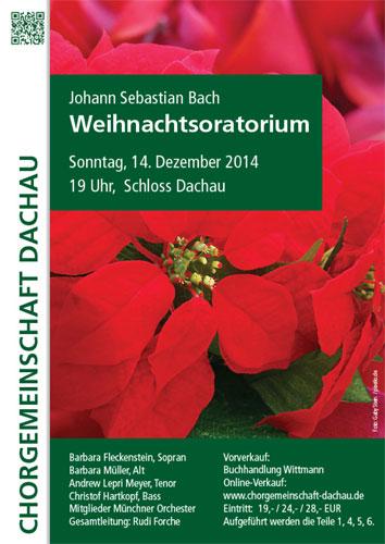 Chorgemeinschaft Dachau Weihnachtsoratorium Bach